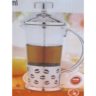 Filtre kahve makinesi-Coffee Maker French Press 600ml